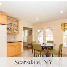 Rental info for 10 Minute Walk To Train And Shops. Will Consider! in the Scarsdale area