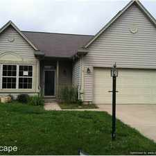 Rental info for 7467 Carnation Ln. in the Indianapolis area