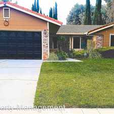 Rental info for 4551 Sidlaw ct in the San Jose area
