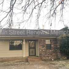 Rental info for 2493 Chiswood Street in the Memphis area