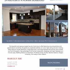 Rental info for 214 Malvern Street in the South Ironbound area