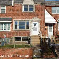 Rental info for 4545 Tolbut St in the Torresdale area