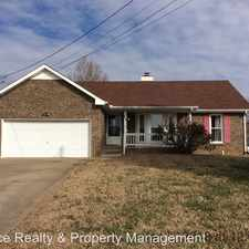 Rental info for 202 Windmeade Circle in the Clarksville area