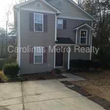 Rental info for 4BR home/Master down/Fenced wooded lot in the Charlotte area