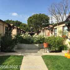 Rental info for 2956-3022 S. Robertson Blvd. in the Los Angeles area
