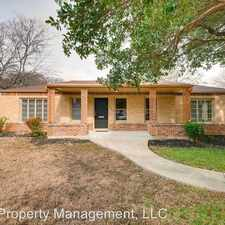 Rental info for 405 Quentin Dr in the San Antonio area
