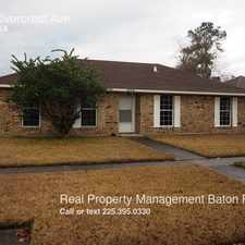 Rental info for 205 Rivercrest Ave in the Baton Rouge area