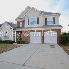 Rental info for 15131 Callow Forest Drive Charlotte NC 28273 in the Charlotte area