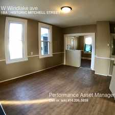 Rental info for 734 W Windlake ave in the Historic Mitchell Street area