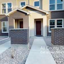 Rental info for 15492 West 65th Ave in the Arvada area