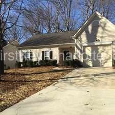 Rental info for 8029 Bella Vista Court in the Charlotte area