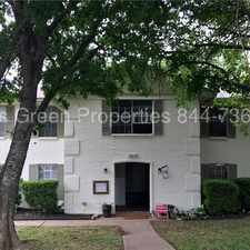 Rental info for 3415 Willowrun Dr #B - 2 Bedroom Unit in 78704! in the Austin area