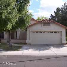 Rental info for 741 W Hackamore St in the Chandler area