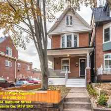 Rental info for 2a Herbert Avenue in the The Beaches area