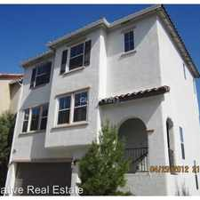 Rental info for 8932 Sally Rose Avenue in the Las Vegas area