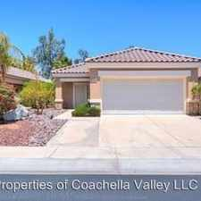 Rental info for 78702 Hampshire Ave in the Indio area