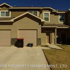 Rental info for 16820 DANCING AVA #2 in the San Antonio area