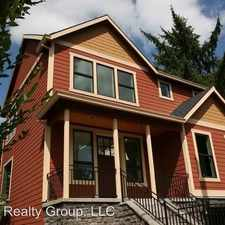 Rental info for 2927 SE Tacoma St in the Portland area