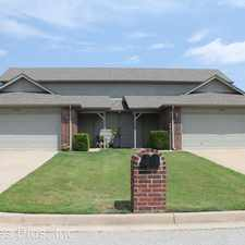 Rental info for 951 Clearwater Circle in the Tulsa area
