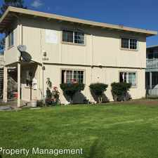 Rental info for 1369 Dubert Lane - Unit 2 in the San Jose area