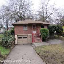 Rental info for 3421 Rainier Ave South in the Columbia City area