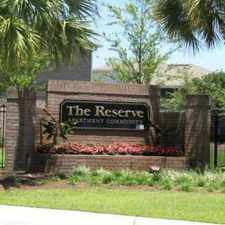 Rental info for The Reserve Apartments