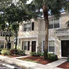 Rental info for Beautiful 2/2.5 Townhouse in Somerset of Jacaranda in the Plantation area