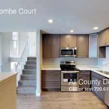 Rental info for 5887 Newcombe Court in the Arvada area