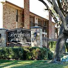 Rental info for Brighton Place in the Lewisville area