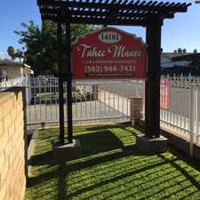 Rental info for Tahoe Manor 14101 Leffingwell Road in the South Whittier area