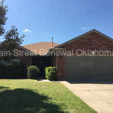 Rental info for Great 3 bedroom in the Winds West Addition in the Oklahoma City area