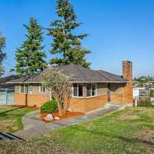 Rental info for Magnolia 3 bedroom with view - 3 bedrooms in the Seattle area