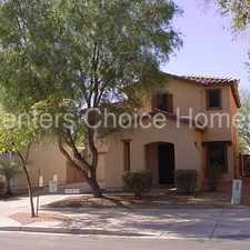 Rental info for Gorgeous Indigo Trails in Queen Creek - with firepit!