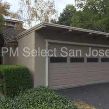 Rental info for Beautiful 3 Bdrm/2.5 Ba Willow Glen Townhome! in the San Jose area