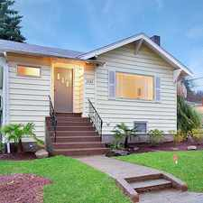 Rental info for Sophisticated large, hip urban Green Lake craftsman just a couple of blocks to the lake!