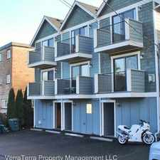 Rental info for 9239 35th Ave. SW Unit A in the Seattle area