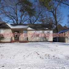 Rental info for 1172 Will Scarlet Rd in the Memphis area