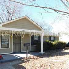 Rental info for 1399 Gherald Street in the Memphis area