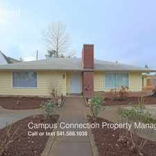 Rental info for 2270 Hilyard in the Eugene area