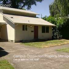 Rental info for 2182 Kincaid in the Eugene area
