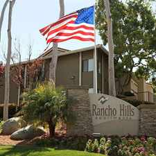Rental info for Rancho Hills Apartments in the Vista area