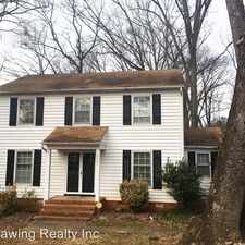 Rental info for 9401 Stately Oak Lane in the Hickory Ridge area