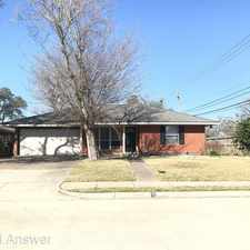Rental info for 4002 Cheena Drive in the Houston area