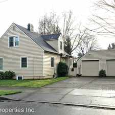 Rental info for 9540 N Seneca St. #A in the Portland area