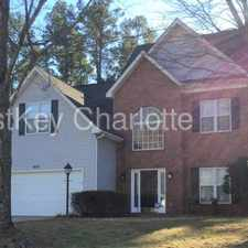 Rental info for 4013 Mozart Court Charlotte NC 28269 in the Charlotte area
