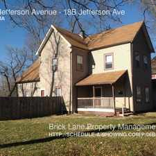 Rental info for 18B Jefferson Avenue in the Indianapolis area