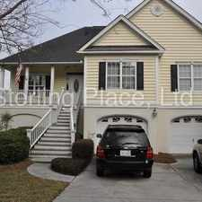 Rental info for Beautiful 2 Story Water Front Home on James Island in the Charleston area