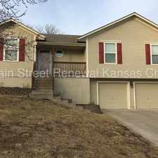 Rental info for Spacious Home in Grain Valley