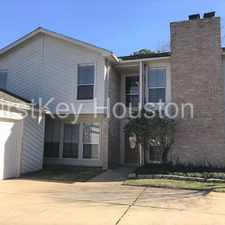 Rental info for 4754 Hickory Downs Dr Houston TX 77084 in the Houston area