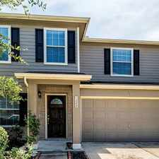 Rental info for 1222 Curtis Crossing in the Houston area